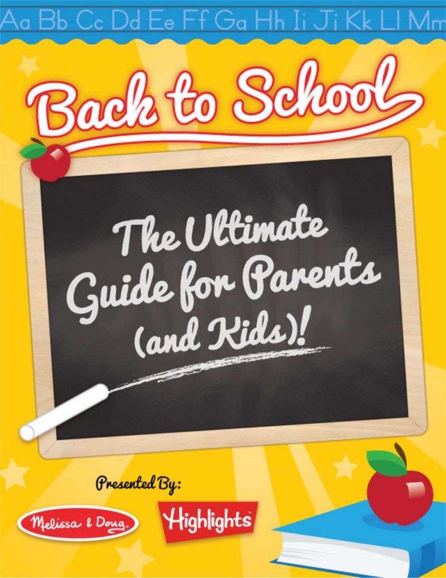 back-to-school guide {printable ebook}