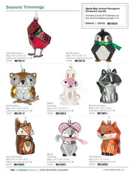 Rabbit 123144 Midwest CBK Animal Menagerie Ornament